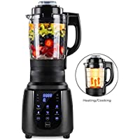 Best Choice Products 1200W 1.8L High-Speed Kitchen Smoothie Blender for Juices, Baby Food, Soup w/Heating Function (Space Gray)