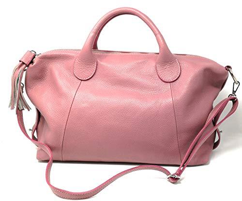Main À Cuir Sac My Rose Bag En Oh Fonce Soldes qavf4wI7