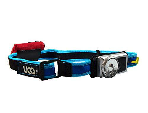 Electric Headlamp - UCO A120 Comfort Fit LED Headlamp, Electric Blues