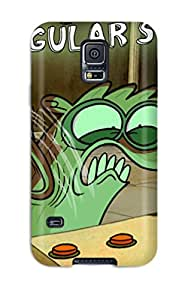 For Galaxy S5 Tpu Phone Case Cover(regular Show)