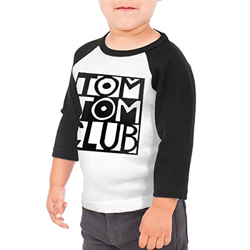 Black6Red Tom Tom Club Children's 3/4 Sleeve T-Shirt 5/6T