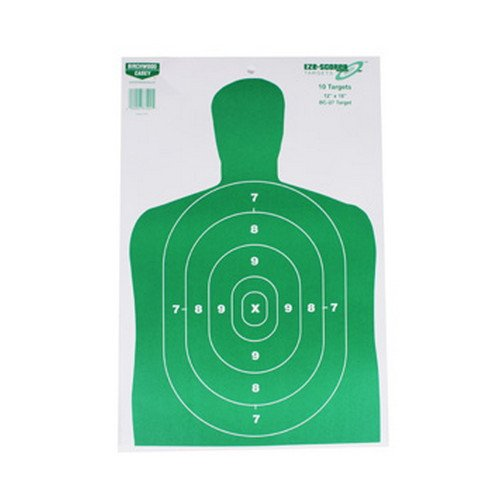 (Birchwood 37204 Casey Eze-Scorer BC-27 Paper Targets (Green, 12x18-Inches), Pack of 10)
