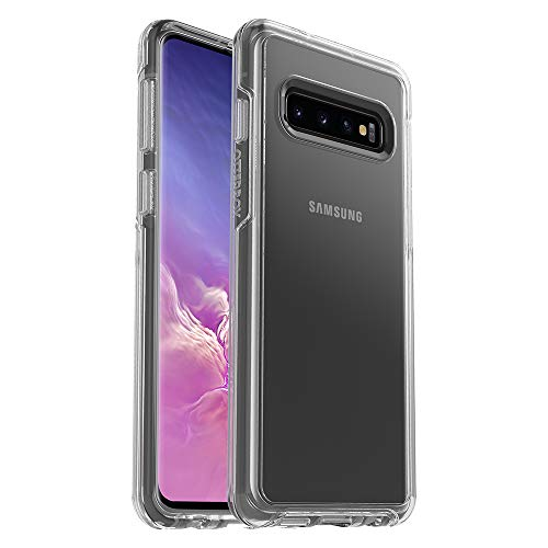 OtterBox SYMMETRY CLEAR SERIES Case for Galaxy S10 - Retail Packaging - CLEAR (Galaxy Pack Retail)