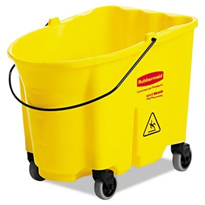 Rubbermaid Commercial RCP 7570-88 YEL WaveBrake Bucket, 8.75 gal, Yellow