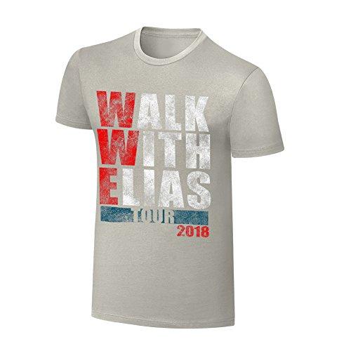 Elias WWE Tour 2018'' T-Shirt, L by WWE Authentic Wear
