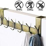 Dseap Over The Door Hook Hanger - 6 Hooks Over Door