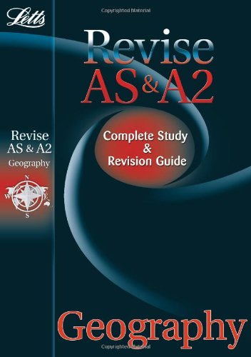 Download Letts Revise as & A2 Geography: Complete Study & Revision Guide (Letts A Level Success) ebook