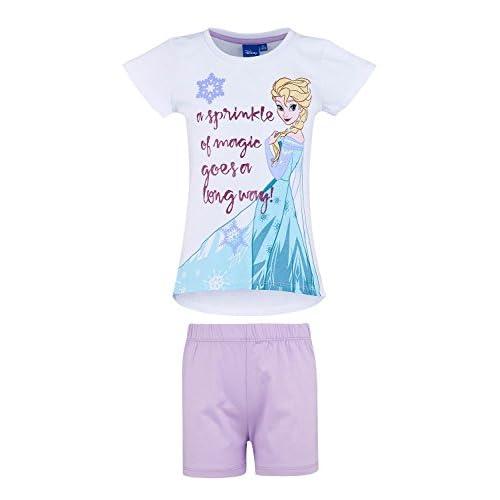 ffd4aa8df 30% de descuento Disney reino del hielo Chicas Pijama mangas cortas - Blanco