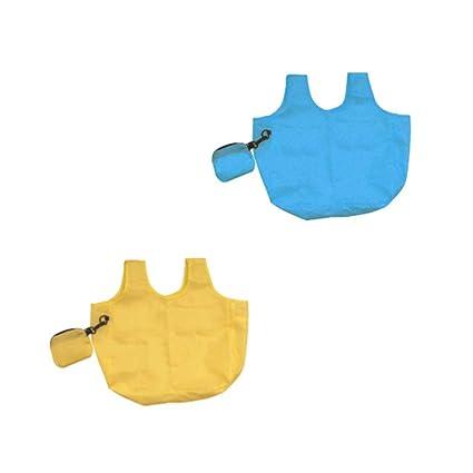 Fun Fan Line® - 4 Pcs Paquetes Bolsa Compra Plegable Bolsa ...