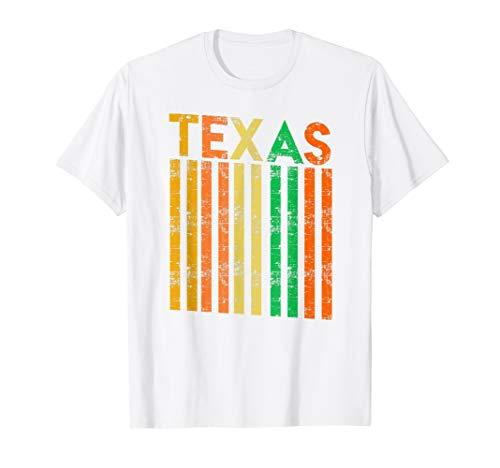 Retro Vintage Texas Colorful Shirt   Cute Texan Roots Gift]()