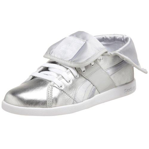 Top Silver Down White Metallics Women's Steel Sneaker Reebok SfCZ5qwnUn