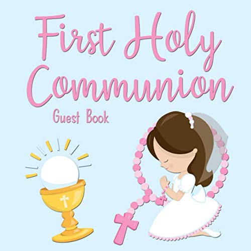 First Holy Communion Guest Book