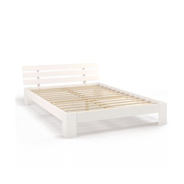 Doppelbett Holz 140x200 Cm Massivholz Bett Bettgestell Inkl
