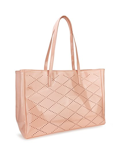 Leather And Patent Leather Tote Bag - 2
