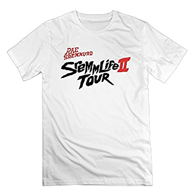 Men's Rae Sremmurd Sremmlife II Tour 1 Fashion Short Sleeve Tshirt