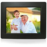 Sungale PF709 - 7 inch Digital Photo Frame with 0.3 Ultra-slim Design, High Definition LCD Screen (Black)