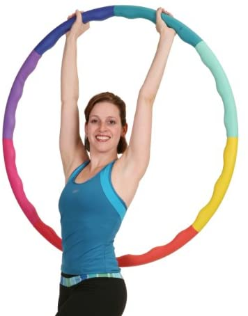 Sports Hoop Weighted Hoop, Weight Loss ACU Hoop 3L - 3.3lb (41 inches Wide) Large, Weighted Fitness Exercise Hula Hoop 1