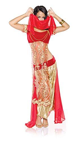 [Women's Arabian Jewel of the Desert Costume (Small)] (I Dream Genie Costume)