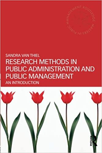 An Introduction Research Methods in Public Administration and Public Management
