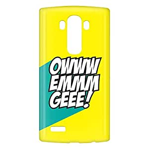 Loud Universe LG G4 OWWW EMMM GEEE! Print 3D Wrap Around Case - Yellow/Green