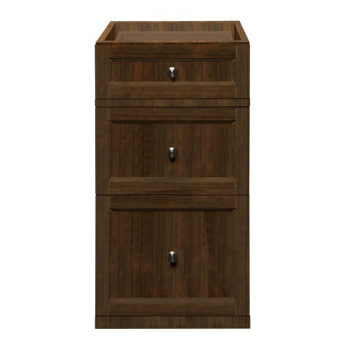 DECOLAV 5235-MMG Jordan 15-Inch Modular Single Drawer Console, Mahogany