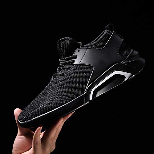 Hhgold Tamaño Red Calzado Blancos Nuevos Black761 Para Marea Transpirables Verano Black761 color De Zapatos Deportivos 42 Hombres g4T1WrUgcB