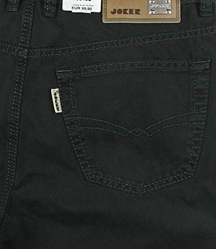 Joker Jeans męskie spodnie Walker firanka całoroczna 100% bawełna: Odzież