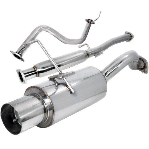 Spec-D Tuning MFCAT2-CV963 Honda Civic 3Dr Hatchback N1 Catback Exhaust Muffler System ()