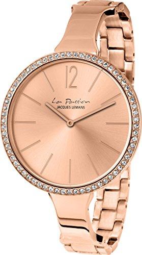 Jacques Lemans La Passion LP-116B Wristwatch for women With Swarovski crystals