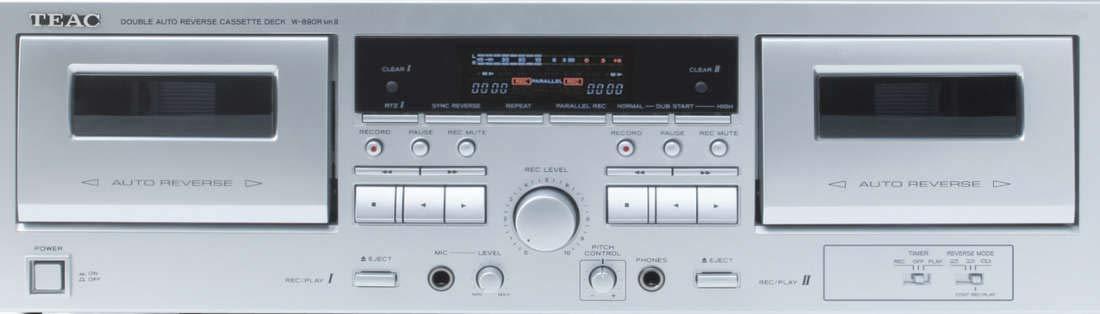 teac ダブルカセットデッキ W-890RMKⅡ オリジナル布ダストカバー[プレゼント セット] B07QBGMLHW