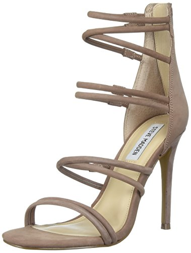 Steve Madden Women's Tito Dress Sandal, Blush Nubuck, 7 M US by Steve Madden
