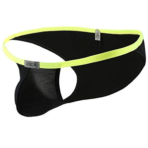 - Fastbot mens underwear, Thong Briefs Fashionable Sexy Underwear Comfortable Black