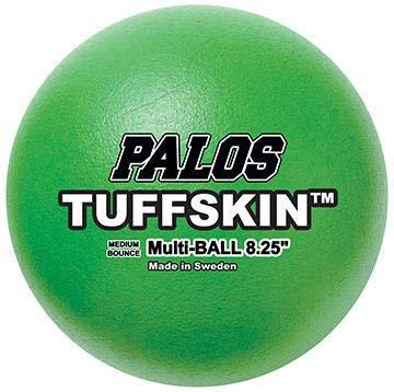 Palos Sports TuffSKIN 7'' Premium Foam Multi-Balls, Set of 6 (Dodgeball)