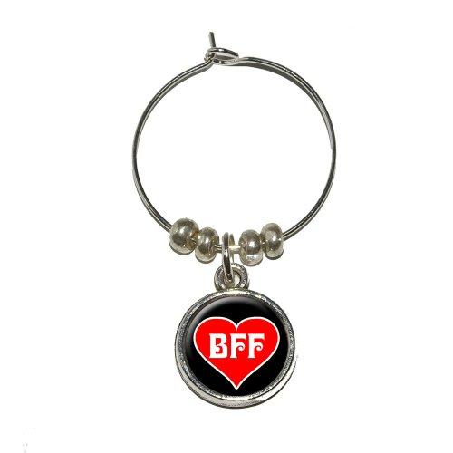 BFF Friends Forever Heart Marker