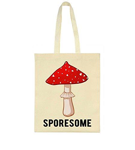 Bag Nice Sporesome Sporesome Tote Nice Mushroom Bag Nice Mushroom Sporesome Red Tote Red Red OqBw5