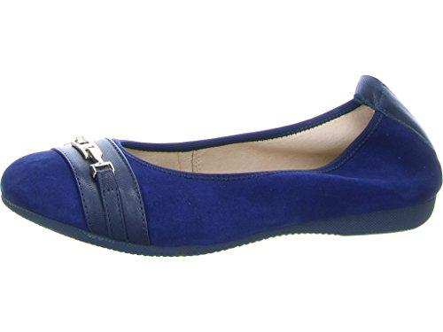La Ballerina Women's 6398 102 Ballet Flats Blue VUxXi9XEwq