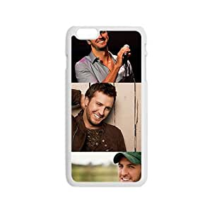 Amiable Guitar player Luke Bryan Cell Phone Case for iphone 4 4s