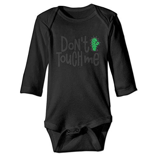 Do Not Touch Me Newborn Fashion One-Piece Bodysuit 100% Cotton Romper Outfits