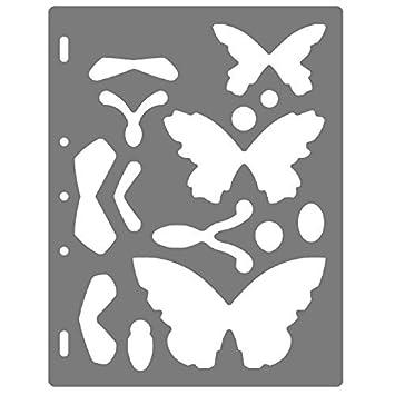 Fiskars Plantilla ShapeCutter, Para crear formas de mariposas, 1003879: Amazon.es: Hogar