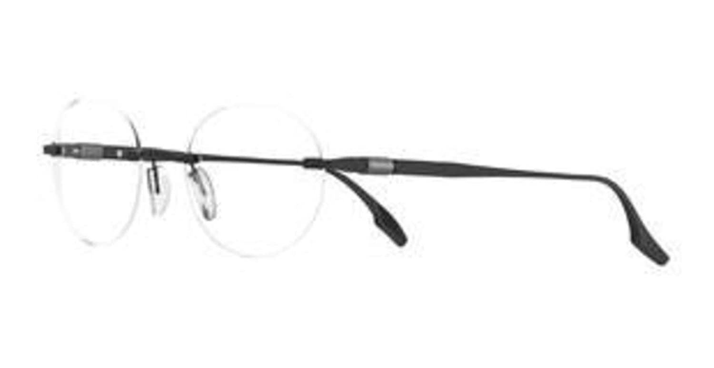 Eyeglasses New Safilo Lente 2 0003 Matte Black