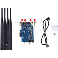 Mini PCI-E to PCI-E x1 adapter With 4 antennas Support 3G WWAN Card