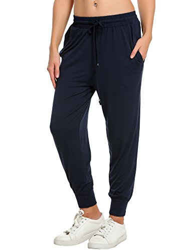 IN'VOLAND Women's Sweatpants Track Pants French Terry Yoga Joggers Lounge Active Pants