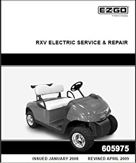 amazon com ezgo 28301g01 1996 owners manual and service guide for rh amazon com 2011 ez go txt owners manual ezgo txt service manual pdf