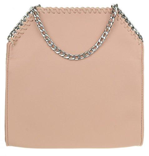 Studded Bag Flesh Girly HandBags Clutch Fringe HandBags Girly ZWdnT40