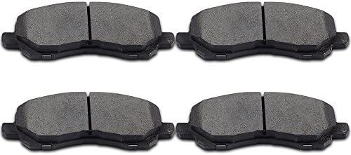 Ceramic Front Brake Pads For Dodge Chrysler Jeep /& Mitsubishi