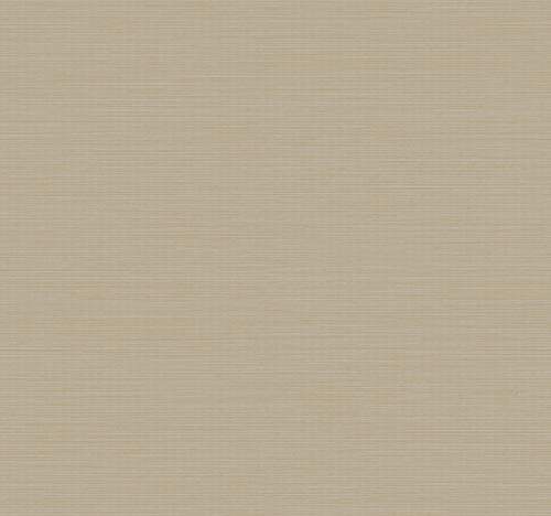 (Décor Direct YWY6200906 Wallpaper Double Roll Dimensions: 21 in. x 33 ft. = 57.75 sq.ft. tan,metallicbei)