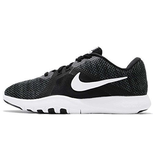 Nike Mujeres Flex 8 Cross Trainer Negro / Blanco-antracita