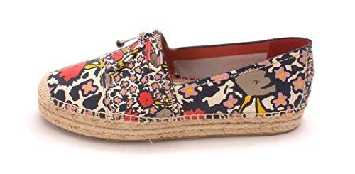 Coach Womens rae Fabric Closed Toe Espadrille Flats Chlk Crl Mlt/Chlk (Floral) cheap sale free shipping DU3EFlNw