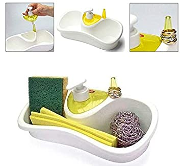 Storage Dish Bath Shelf Sponge Container Shower Deco Holder Home Soap Dish