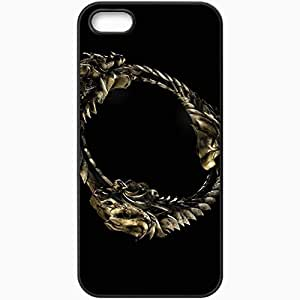 Personalized iPhone 5 5S Cell phone Case/Cover Skin The Elder Scrolls Online Black